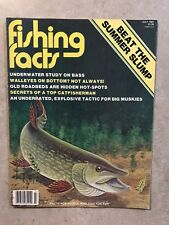 Fishing Facts July 1981