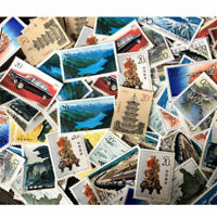 Lots China Value Different Stamp Collection Old Stamps World Random Send 1pcs