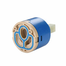 2pcs 40mm Ceramic Faucet Cartridges Valve Disc Replacement f/ Bathroom Faucet