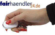 SCHLÜSSELANHÄNGER mit LED BELEUCHTUNG basic XL weiß PFIFF Schlüsselfinder 1A NEU