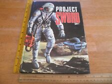 Project Sword 1968 space British Annual comic SCARCE Century 21 Gerry Anderson