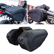 Black oxford Saddle Bags Trunk Luggage Universal Motorcycle waterproof Saddlebag