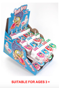 ✅ 1 x 24 Candy Plunger Toy with Sour Dip  - 4 Flavours in Box ✅