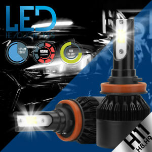 XENTEC LED HID Headlight kit H11 White for Hyundai Genesis Coupe 2010-2012
