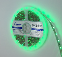Led Strip Lights 12V 5M Dimmable Tape Green IP33 3528 Ribbon Flexible Rope UK