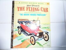 The Flying Car, A Little Golden Book,1961(A ED;Absent-Minded Professor)