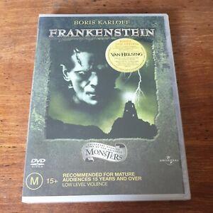 Frankenstein Boris Karloff DVD R4 BRAND NEW SEALED! FREE POST