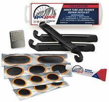 Rocride 16 PC Inner Tube Patch Bicycle Repair Kit. Also for Inflatable Dinghies