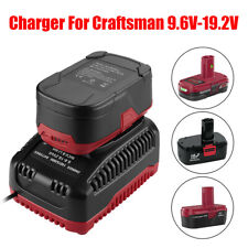 19.2V Max Rapid Charger for Craftsman DieHard C3 Xcp Ni-Cd & Lithium-Ion Battery