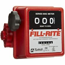 Fill-Rite Fuel Meter 807C 3/4' Mnpt 5-20 gpm, Tuthill Fuel Meter Mechanical