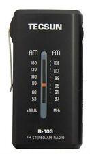 TECSUN R-103 FM Stereo AM Dual Bands High Sensitivity Pocket Radio Receiver