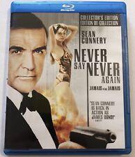 Never Say Never Again Bluray (007, James Bond, 1983, Rare Oop) Canadian