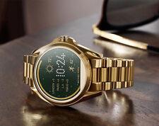 Michael Kors MKT5018 Bradshaw Rose Gold Glitz Touch Screen Ladies Smart Watch