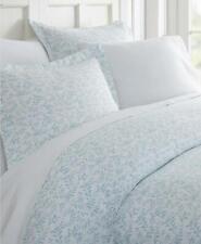 ienjoy Home Tranquil Sleep 3 Piece Full Queen Duvet Cover Set Light Blue $72