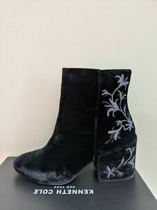 Kenneth Cole NEW York Women's Renna Velvet Velour Boots Size 8 NEW NIB