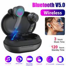 Bluetooth 5.0 Headset TWS Wireless Earphones Twins Earbuds Mic Stereo Headphones