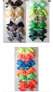 """20 - Extra Large 6"""" Girls Boutique Hair Bows"""