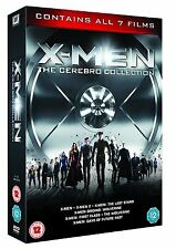 X-MEN CEREBRO COLLECTION BRAND NEW AND SEALED 1-7 FILMS 1 2 3 4 5 6 7 DVD