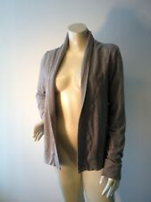 Vtg Lululemon gray open WRAP cardigan sweater Sz S / M