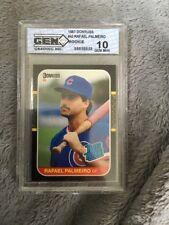 1987 Donruss Palmeiro #43 Baseball Card
