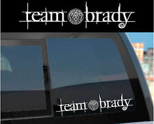 """Team Brady"" Sticker Decal for Twilight Wolf Pack & Jacob w/ tattoo design too!"