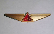 Set of 5 Delta AirLines Gold Plastic Pilot Wings Pins rarer than silver Kiddie