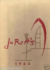 St. John Fisher College Rochester New York 1963 Jo Roffs Yearbook Annual
