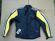 "CORNER Mens Leather Motorbike Motorcycle Jacket Size UK 36"" Chest  L1"