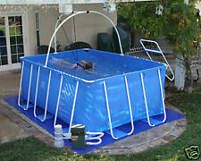 iPool® 3-D swimming pool with heater -swim in all season