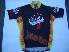 Judas Priest Fahrradtrikot British Steel Firepower Cycling Jersey Shirt GR L Neu