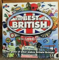 Drumond Park The Best Of British Logo Board game - Complete With Instructions