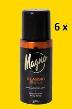 Deo Eau de Toilette-Desodorante von Magno Classic 6 x 150 ml (GP 3,31€ / 100ml )