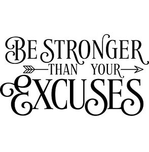 Inspirational vinyl wall art quote Be Strong Quote Vinyl Sticker Wall Decal