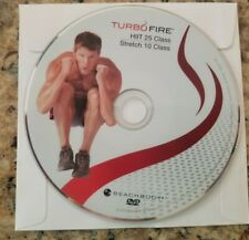 Beachbody Chalene Turbo Fire - HiiT 25/Stretch 10 - Replacement Dvd