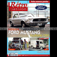 RETRO PASSION N°152 FORD MUSTANG 1968 CITROËN TYPE H DELAHAYE 24H MANS 1938