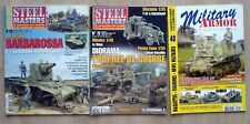 LOT MAGAZINE STEEL MASTERS 72 + HORS SERIE 28 BARBAROSSA MILITARY ARMOR N°40