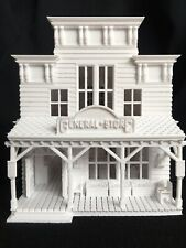 Miniature HO Scale Old West #2 Frontier General Store Built Includes Interiors