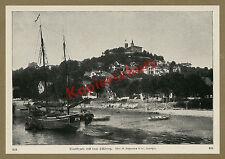 Koppmann Hambourg Blankenese süllberg Château Maisons Voilier ewer maritime 1912
