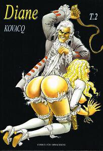 Kovacq Comic International Presse Magazine Verlag  Diane T.2 Deutsch Hardcover