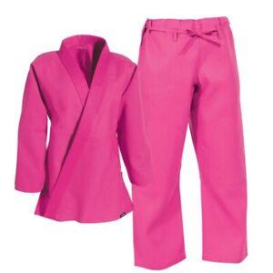 A1 - Century Student Jiu jitsu Gi 04004 in Pink