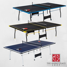 Ping Pong Table Indoor Table Tennis With Paddle And Balls OFFICIAL SIZE