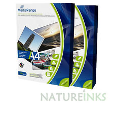 200 Mediarange 130 gsm Matt A4 single sided matte coated PHOTO paper MRINK101