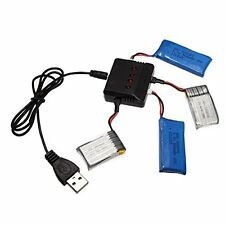 X4 Battery Charger 4In1 For Hubsan X4 WLtoys UDI JXD Syma JJRC RC Quadcopter T1