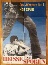 Heiße Sporen (Kinoplakat '70) - James Arena / Virginia Gordon