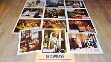 LE DEPRAVE  ! Helmut Berger jeu photos cinema lobby cards fantastique 1973