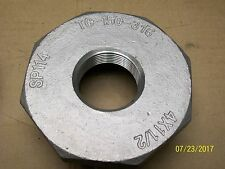 """4"""" X 1-1/2"""" HEX BUSHING 316 STAINLESS STEEL PIPE REDUCER FITTING REDUCING"""