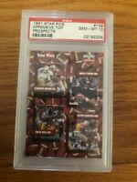 1991 STAR PICS 109  BRETT FAVRE PSA 10 GEM  MINT GREEN BAY PACKERS HOF ROOKIE RC