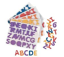 Rainbow Self-Adhesive Letters ( 1040 Pieces) Foam. 1/2""