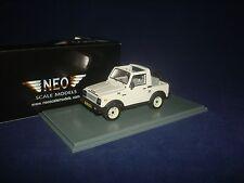 Suzuki SJ410 4х4 white 1985 NEO 44030 1:43