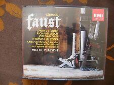 COFFRET 3 CD MICHEL PLASSON – Gounod: Faust / EMI Classics  CDS 7 54228 2- 1991